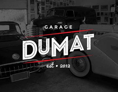 Garage dumat on behance for Garage ad agde
