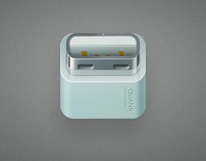 U disk, a iOS-like icon