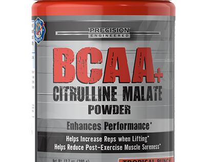 BCAA Bottle Render