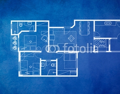 Blueprint Floor Plan Backgrounds