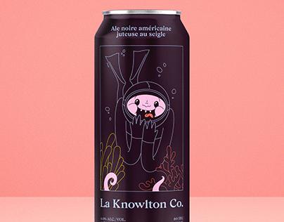 Knowlton Co. Black IPA