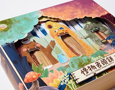餂餂怪物舌頭餅 Tian Tian Monster tongue-shaped pastry