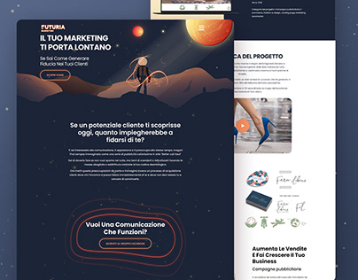 Futuria Marketing website