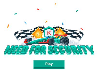 Racing game for Kaspersky Lab