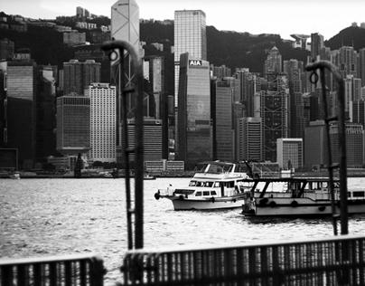 Hong Kong Horizon [50mm F1.8 30D]