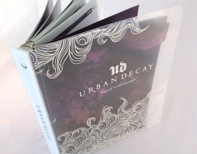 Urban Decay Seasonal Newsletter & Binder