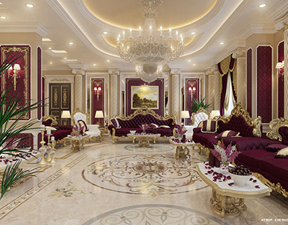 luxury Reception Interior