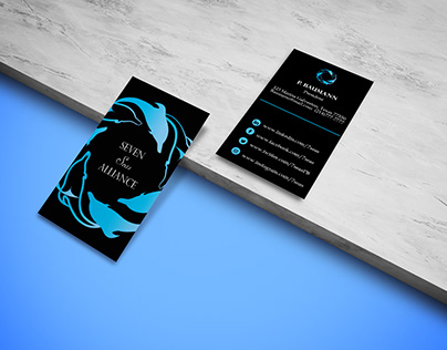 Patricia Business Card Mockup 1