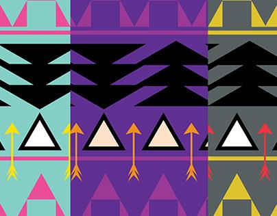 Aztec repeat pattern