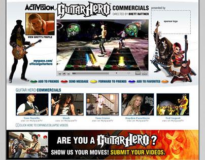 Myspace Custom Advertising Profile