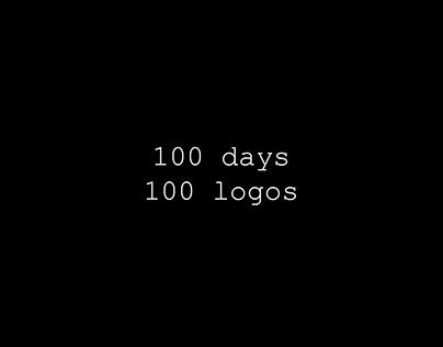 100 days / 100 logos