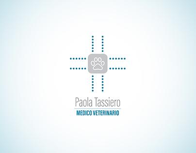 Creazione del logo per la veterinaria Paola Tassiero