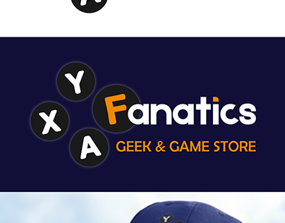 Fanatics - Geek & Game Store | Identidade Visual
