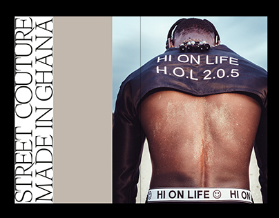 Visual Identity, Editorial Design – Hi On Life