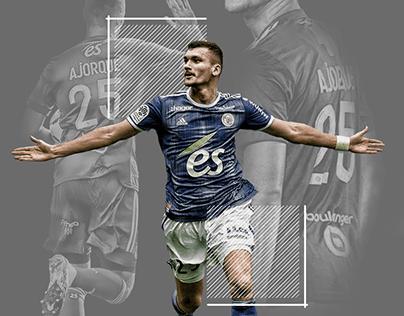 Ludovic Ajorque Wallpaper soccer