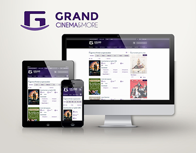 Grand Entertainment Website - For Baneasa