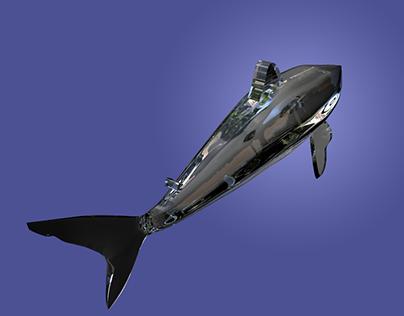 Shark Glass Model