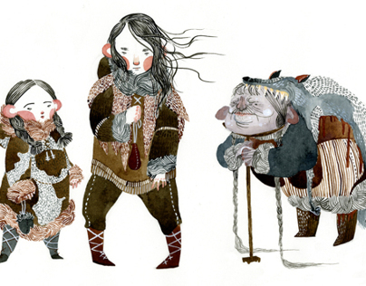 Hansel and Gretel in the Far North