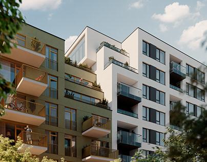 Residential complex in Lviv, UA