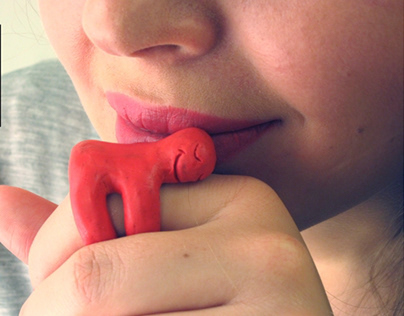 Hugi - Universal symbol of love. Concept