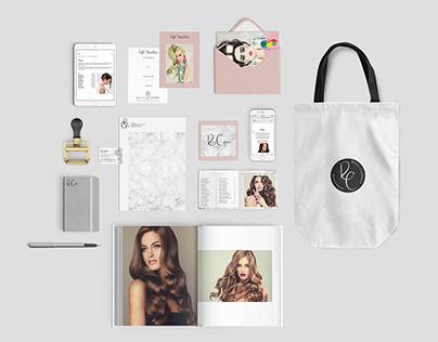 Brand Identity Design | Ricci Capricci Beauty Salon