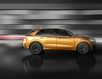 Audi Q8. Vision Beyond the Horizon
