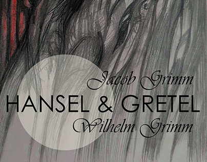Hansel & Gretel book cover//2019