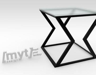 // MYT Design Ltd: Push table (side version)