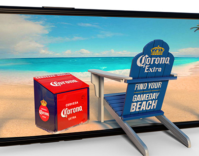 Corona Experiential OOH and WebAR Experience