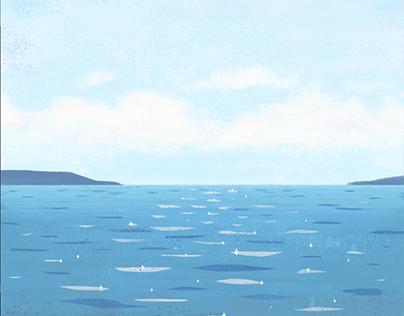 Half Moon Bay -- Animated Gif