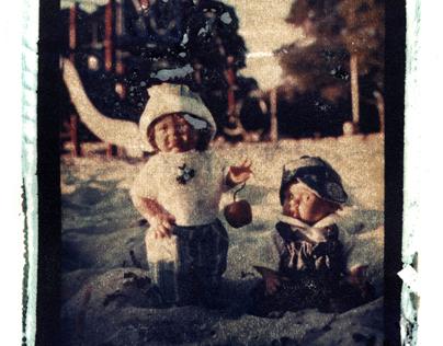 Playing dolls