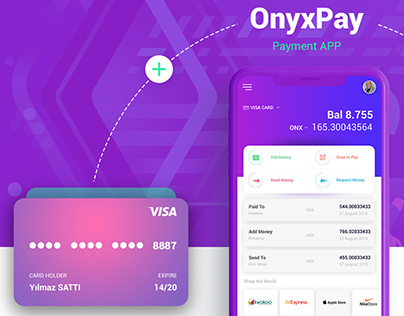 OnyxPay | Payment App Ui -Ux