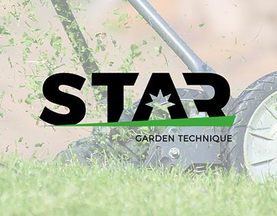 Logo - garden technique producer