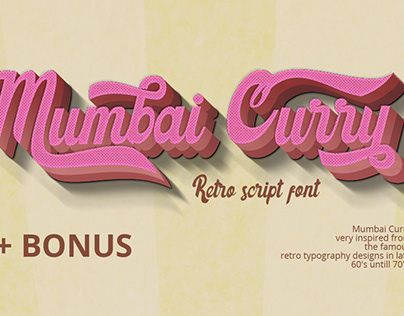 Free Retro Script Font for Your Project