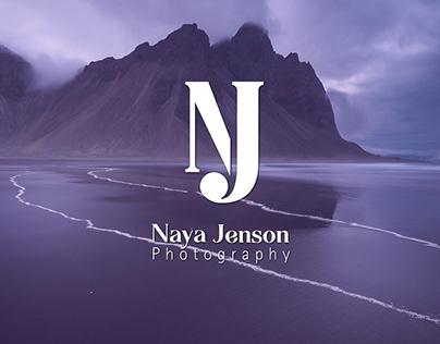 Naya Jenson Photography | Logo & Brand Identity Design