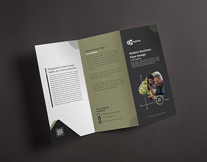 Company Flyer Brochure Template.