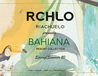 Bahiana, RIACHUELO S/S 20 Resort Collection