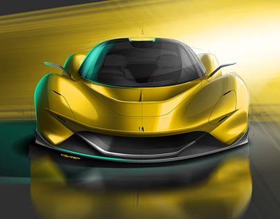 Maci Automotive - GT99 concept car