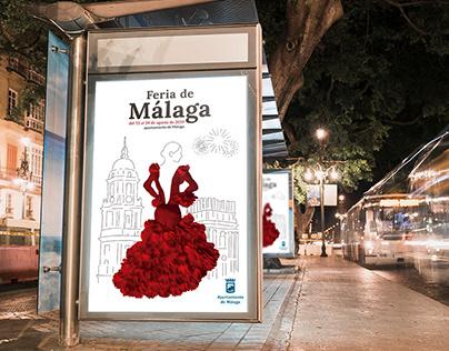 PROPUESTA CARTEL FERIA DE MÁLAGA 2019