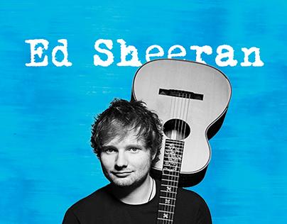 Ed Sheeran Infographic - Live In Mumbai
