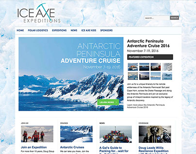 Ice Axe Expeditions Web Site Maintenance
