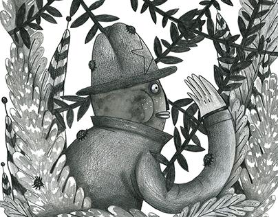 Clickhole at The Hideout · Illustration Series