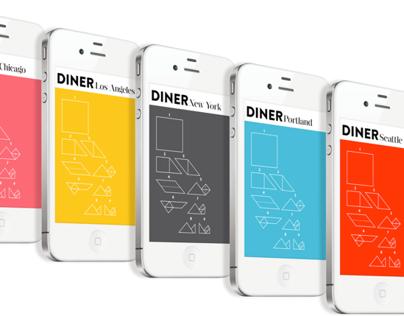 DINER – Mobile Food Review App