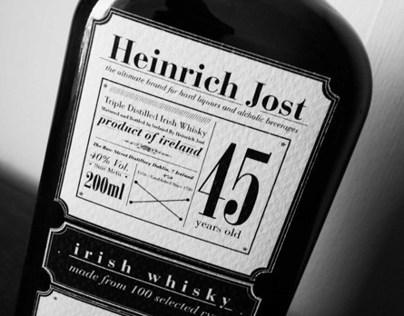 """""""Heinrich Jost"""" Whisky Brand"""