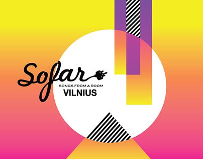 Sofar Sounds - poster for music event