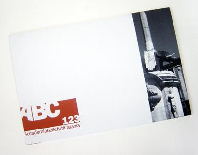 Accademia Belle Arti Catania // Academic project
