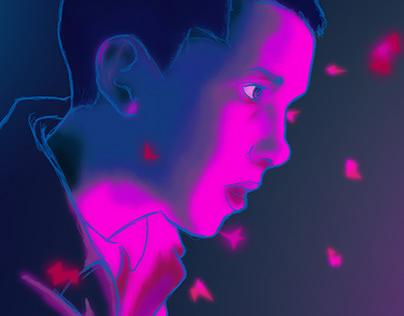 Stranger Things: Digital Sketch