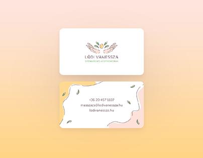 Swedish massage in your home (Branding)