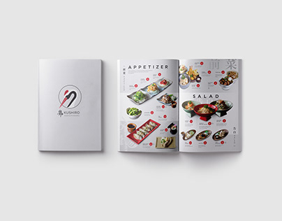 Kushiro, Identity and Menu Design