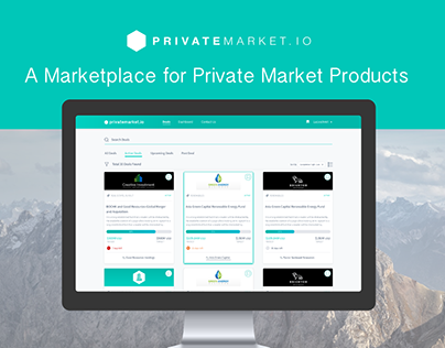 A Marketplace for private Market Products